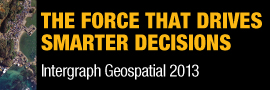 Intergraph Geospatial 2013 - The Force that Drives Smarter Decisions