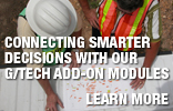 Connecting Smarter Decisions with our G/Tech Add-on Modules