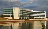 Lakefront of New Intergraph Headquarters Building